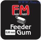 Rybářská Feeder gum 10m, feederová guma