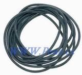 Rybářská hadička silikon černá Carp system 2m C.S
