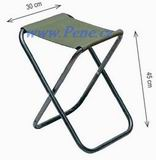Rybářská židlička X zelená