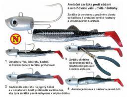 Aretace na nástrahy Jig SEA a Jig SEA-S aretační zarážka - zvětšit obrázek