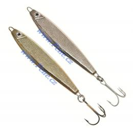 Pilker ( pilkin ) s trojháčkem ICE fish stříbrný 7 - 100 g - zvětšit obrázek