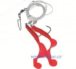 Návazec na moře Twistry červené A 9 cm ICE fish - zvětšit obrázek