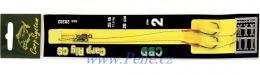 Kaprové návazce CBD s rovnátkem 2ks návazec na boilies c.s. - zvětšit obrázek