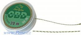 Návazcová šňůrka CBD 20m Carp system šňůra 15 a 25 Lbs - zvětšit obrázek