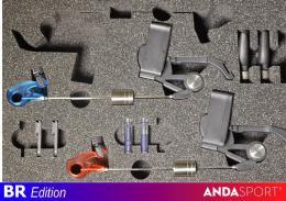 Anda indikátory-2ks v kufírku, dioda M+Č - zvětšit obrázek