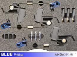 ANDA indikátory- 3ks v kufírku, dioda M+M+M - zvětšit obrázek