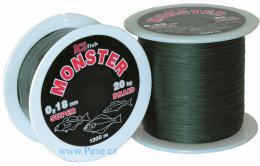 Pletená šňůraICE fish Monster 0,80 mm / 90 kg 1200m - zvětšit obrázek
