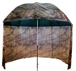 Deštník s bočnicí 2,5 m Camo PVC Moss Delphin - zvětšit obrázek