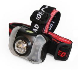 Čelová svítilna Delphin Polar X 5+4 LED čelovka - zvětšit obrázek