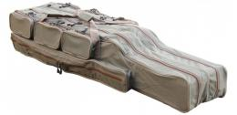 Obal na pruty Suretti dvoukomorový 125 cm futrál, taška - zvětšit obrázek