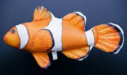 Plyšový polštář Klaun očkatý 30cm - Hledá se Nemo - zvětšit obrázek