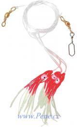 Návazec na moře Chobotnice RF 8cm ICE fish - zvětšit obrázek
