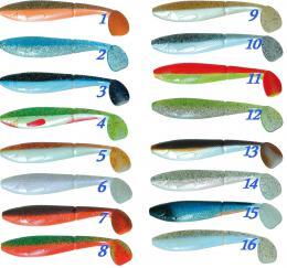Gumová nástraha Atoka Scaler 12cm / 2ks rybí aroma, riper - zvětšit obrázek