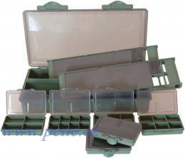 Carp set III C.S kufřík Carp system s lampičkou - zvětšit obrázek