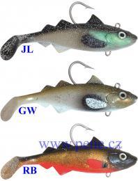 ICE fish nástraha ryba HYSE Jednoskvrnka 22cm 425g - zvětšit obrázek