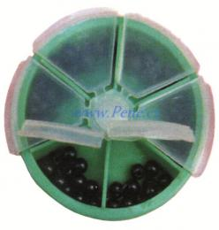 Sada gumových kuliček 120ks - zvětšit obrázek