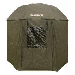 Deštník s bočnicí Full Cower 210D 2,5m Suretti - zvětšit obrázek