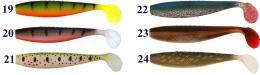 Gumová vláčecí nástraha Atoka Zack 12 cm - zvětšit obrázek