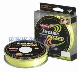 Šňůra Fireline Exceed-Fluo Zelená 0,17 - 10,2 kg AKCE!! Berkley - zvětšit obrázek