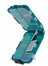 Rybářská krabička hranatá na háčky 10 polí - zvětšit obrázek