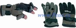Rybářské neoprenové rukavice ICE fish - zvětšit obrázek
