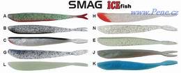 Smáček SMAG ICE fish vláčecí 6cm  5ks DropShot - zvětšit obrázek