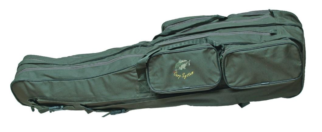 Carp System Rybářský obal ( futrál ) na pruty dvoukomorový C.S. 150 cm