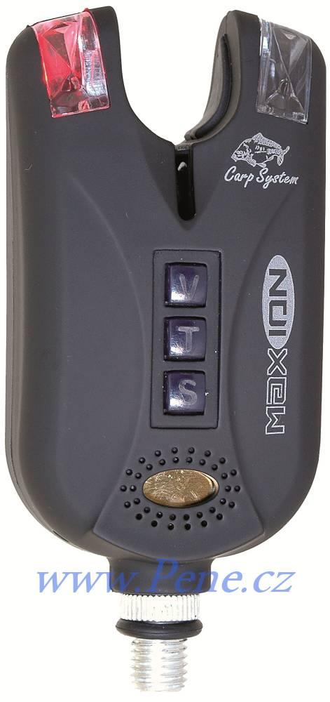 Carp System Hlásič Maxion Carp system s dobíjecí baterií signalizátor