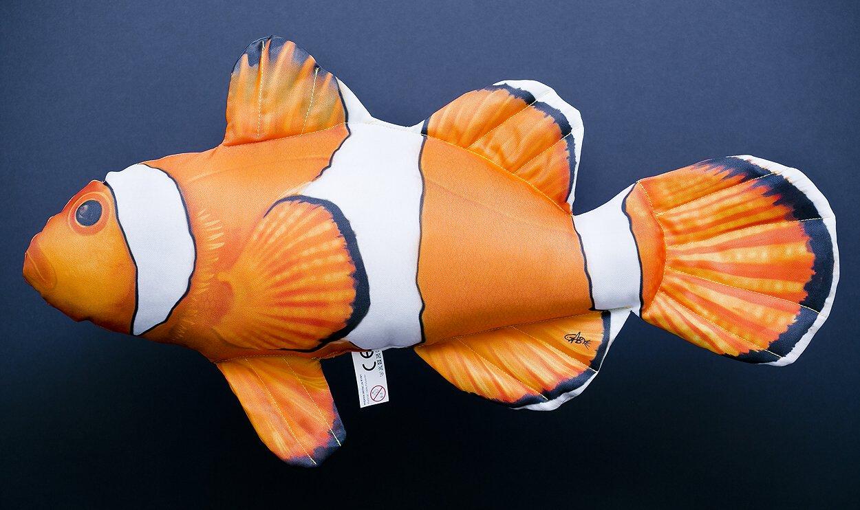 GABY s.c. Plyšový polštář Klaun očkatý 56cm - Hledá se Nemo