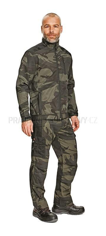 Rybářské maskáčové kalhoty