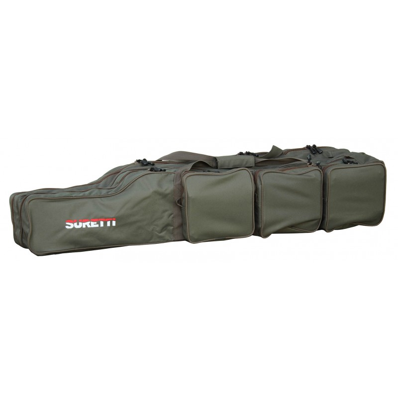 Suretti Obal na pruty Suretti tříkomorový 110 cm futrál, taška