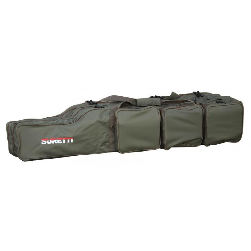 Suretti Obal na pruty Suretti tříkomorový 125 cm futrál, taška