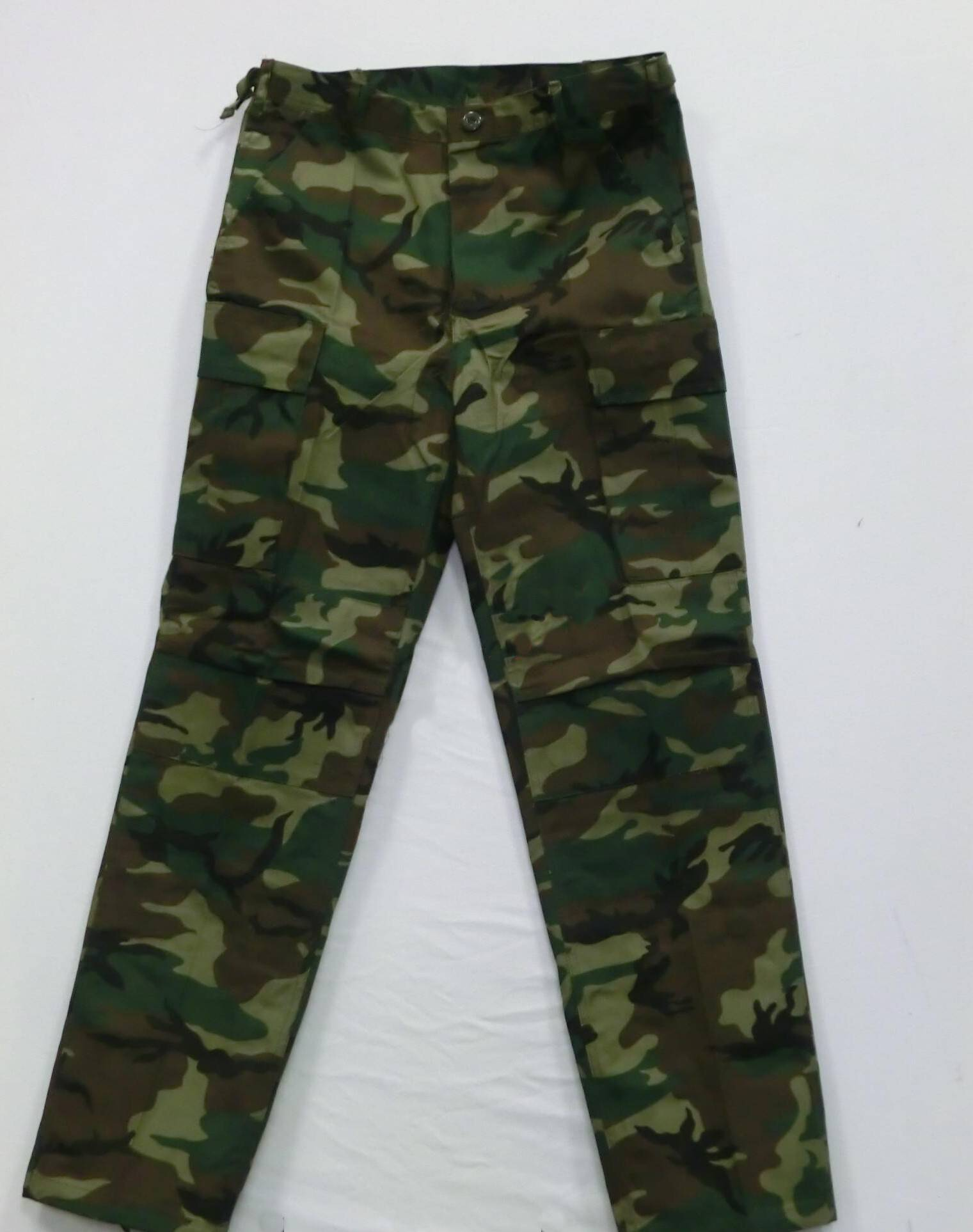 Maskáčové kalhoty velikost S pas 70 - 81 cm
