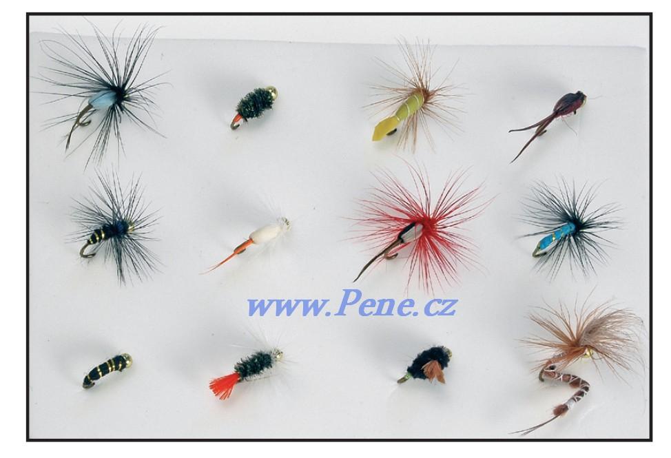 JSA fish Rybářská sada nymf Gold 12ks JSA fish