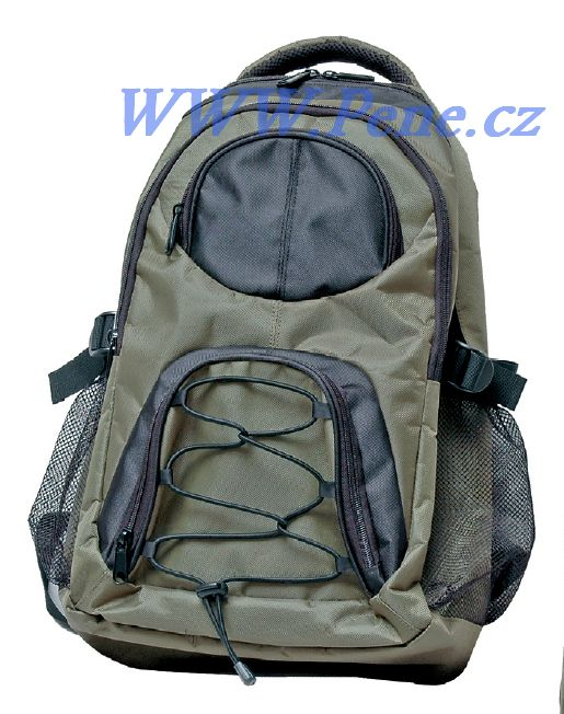 JSA fish Rybářská taška na záda , batoh zelený rybářský