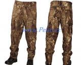 Rybářské kalhoty Camo Rip stop maskáč
