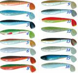 Gumová nástraha Atoka Scaler 10cm / 3ks rybí aroma, riper
