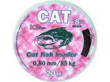Šňůra CAT 20m na sumcové návazce nosnost 85, 105 a 138 kg