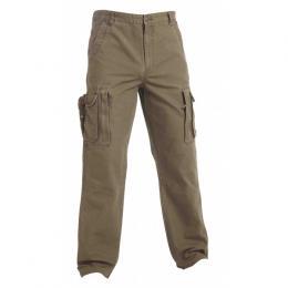 Rybáøské kalhoty khaki bavlnìné