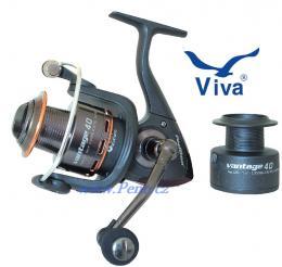 Rybářský naviják Viva Vantage 20 s přední brzdou - zvětšit obrázek