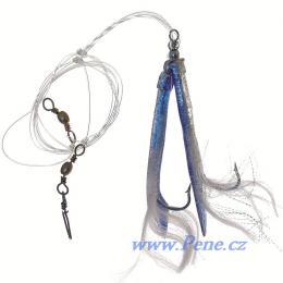 Návazec na moře Trubičky modro/stříbrné Mix A 8/0 ICE fish - zvětšit obrázek