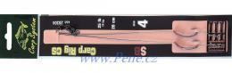 Kaprové návazce SB 2ks Carp system návazec na boilies C.S.