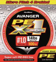 Šňůra Avenger Spin DG, LG 100 m, 0,10 mm 6,4 kg na přívlač - zvětšit obrázek