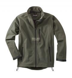 Rybáøská Softshelová bunda zelená s elastanem