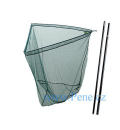 Kaprový dvojdílný podběrák 100 x 100 cm tyč 180 cm pogumovaný - zvětšit obrázek