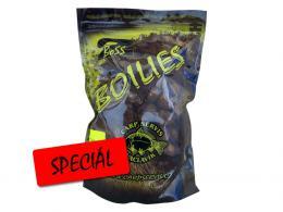 Boilies Boss2 Speciál Rozpálená švestka 1 kg, Carp Servis