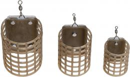 Feederové krmítko FM - S 30x25mm 10g, 20g, 30g a 40g