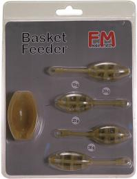 Set závìsných method feederových krmítek s formièkou.