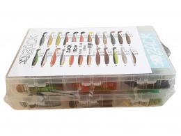 Sada vláèecích ryb Zack 10 cm v plastových krabicích délka