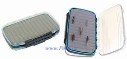 Rybářská krabička na mušky 28 oboustranná vodotěsná - zvětšit obrázek